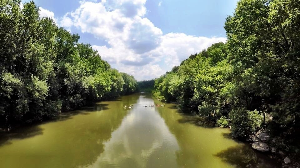 paddling the Duck River