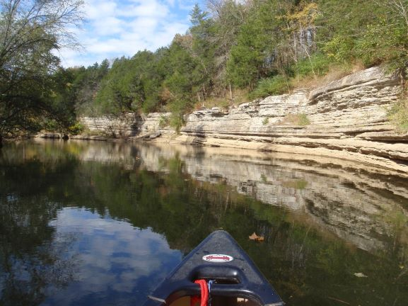 Rock Cliffs along the Duck River
