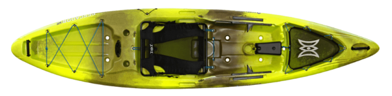 Perception Pescador Pro 12 sit on top kayak